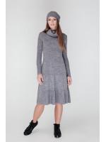 Платье «Мери» серого цвета
