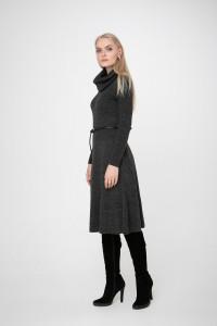 Сукня «Мері» темно-сірого кольору