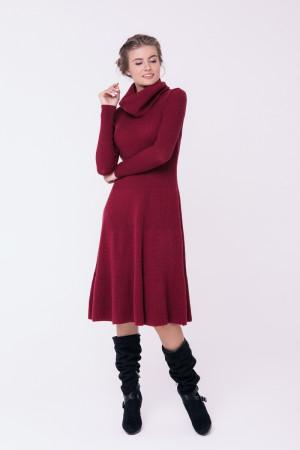 Платье «Мери» бордового цвета