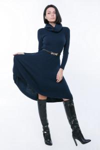 Платье «Мери» цвета джинс