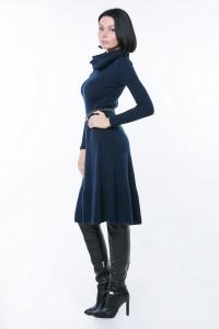 Платье «Мери» темно-синего цвета