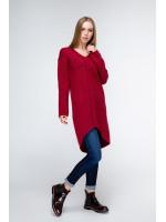 Платье «Штеффи» бордового цвета