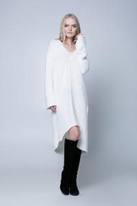 Платье «Штеффи» белого цвета