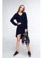 Платье «Штеффи» темно-синего цвета