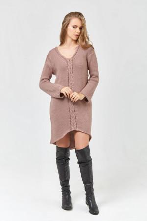 Сукня «Штеффі» кольору марсала
