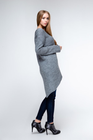 Платье «Штеффи» серого цвета