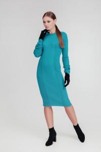 Платье «Лена» цвета петроль