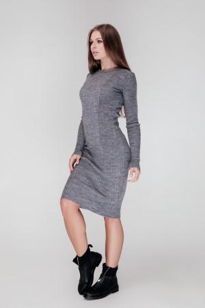 Платье «Лена» серого цвета