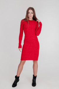 Сукня «Лена» червоного кольору