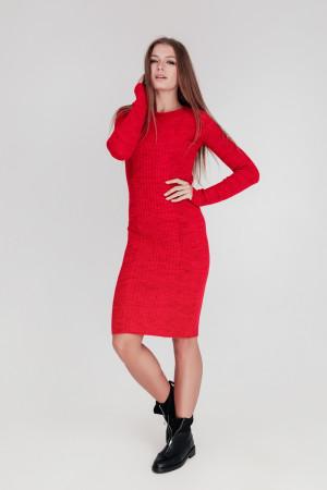 Платье «Лена» красного цвета