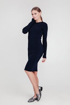 Платье «Лена» темно-синего цвета