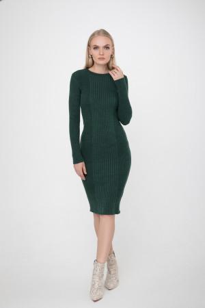 Платье «Лена» темно-зеленого цвета