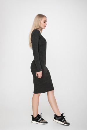 Сукня «Лена» темно-сірого кольору