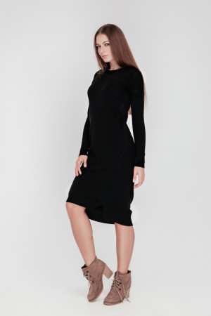 Платье «Мальме» черного цвета