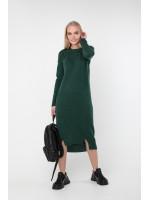 Платье «Мальме» темно-зеленого цвета