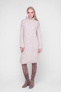 Сукня «Люрекс» кольору шампіньйон