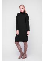Платье «Люрекс» черного цвета