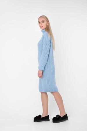 Платье «Люрекс» голубого цвета