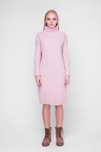 Платье «Люрекс» цвета пудры