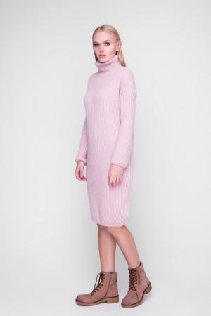 Сукня «Люрекс» кольору пудри