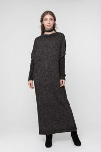 Сукня «Санта» чорного кольору