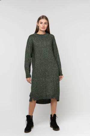 Платье «Камилла» темно-зеленого цвета