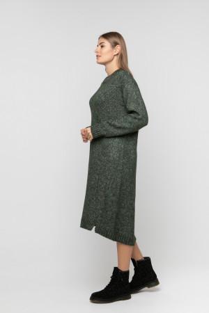 Сукня «Камілла» темно-зеленого кольору