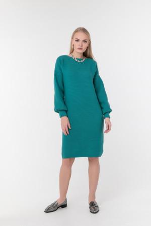 Платье «Скарлетт» цвета петроль