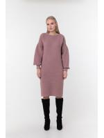 Платье «Скарлетт» цвета марсала
