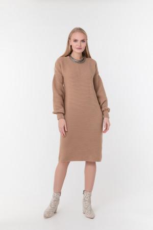 Платье «Скарлетт» цвета кэмел
