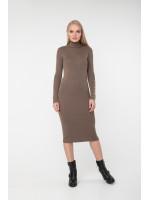 Платье «Вояж» темно-бежевого цвета