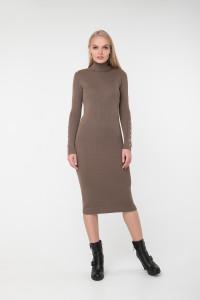 Сукня «Вояж» темно-бежевого кольору