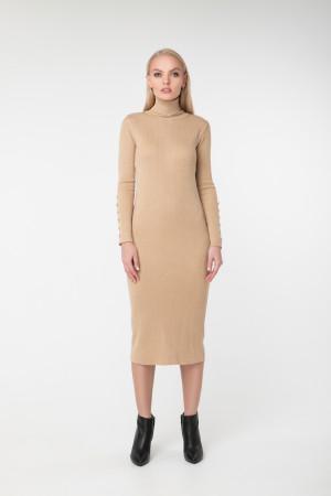 Сукня «Вояж» бежевого кольору