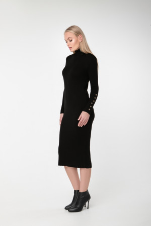 Платье «Вояж» черного цвета
