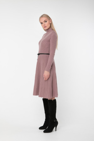 Платье «Аккорд» цвета марсала