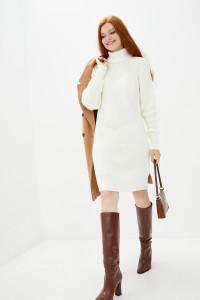 Платье «Роше» белого цвета