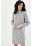 Сукня «Роше» кольору світло-сірий меланж