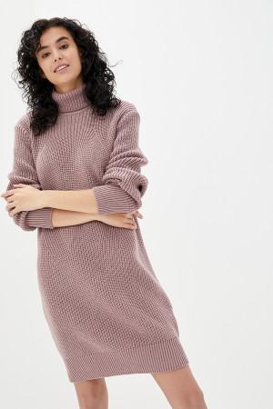 Платье «Роше» цвета марсала