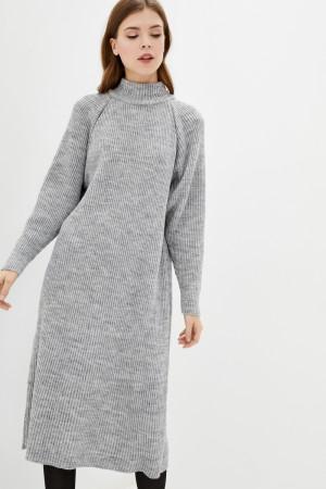 Сукня «Тибет» кольору світло-сірий меланж