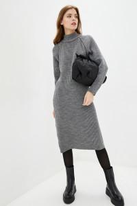 Платье «Тибет» серого цвета