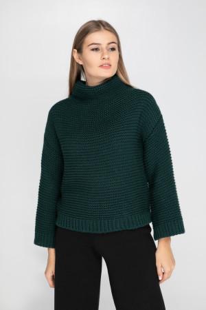 Свитер «Арин» темно-зеленого цвета
