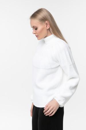 Светр «Тодес» яскраво-білого кольору
