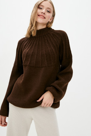Светр «Тодес» коричневого кольору