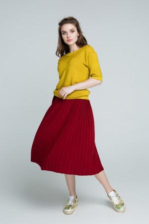 Спідниця «Арті плюс» бордового кольору