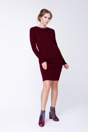 Спідниця «Смарт» бордового кольору