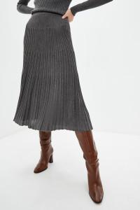 Спідниця «Санні» темно-сірого кольору