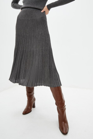 Юбка «Санни» темно-серого цвета