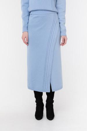 Спідниця «Камелія» блакитного кольору