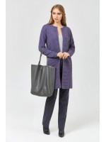 Кардиган «Каркаде» фиолетового цвета
