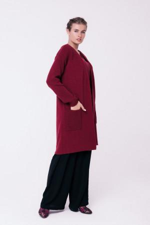 Кардиган «Зара» бордового цвета